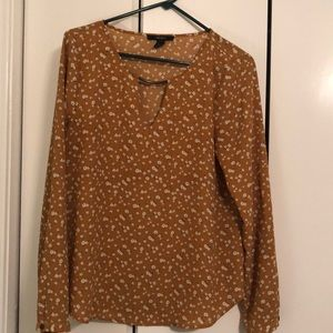 Forever 21 mustard top